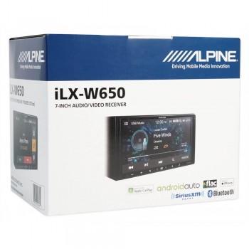 2DIN цифровой медиаресивер с поддержкой Bluetooth Alpine iLX-W650BT