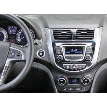 Переходная рамка 2DIN для автомобилей Hyundai Solaris INCAR RHY-N19