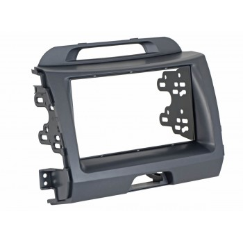 Переходная рамка 2DIN для автомобилей Kia Sportage III INCAR RKIA-N25