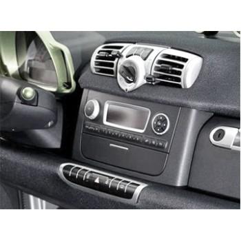 Переходная рамка 2DIN для автомобилей Smart Fortwo BR415 Facelift (2011+) INCAR RSM-N01A