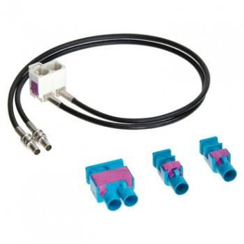 Антенный переходник для VW, Audi, Opel, Skoda (FakraM - FakraF) Incar ISO ANT-20